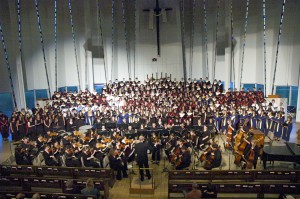 The Gustavus Oratorio Festival Massed Choir, Gregory Aune, conductor