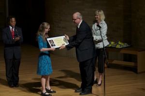 2013 Senior Honors Recitalist, Beth Hauer, euphonium