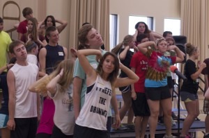 In Rehearsal, The 2013 Gustavus Show Choir Summer Camp