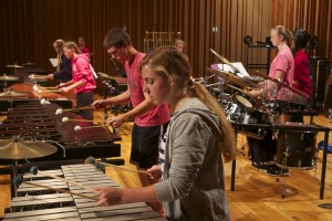 Percussion Sectional, Hastings High School Marching Band Summer Camp