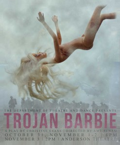 Christine Evan's TROJAN BARBIE