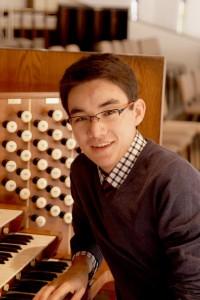 Organist David Lim '15