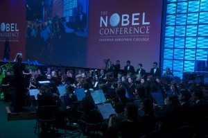 The Vasa Wind Orchestra & Conductor Karrin-Meffert Nelson at Nobel Conference 2015