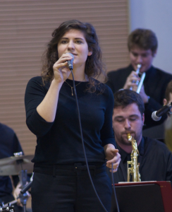 Vocalist Hannah Walters in Concert with Gustavus Jazz Lab Band