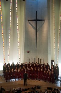 The Gustavus Choir, Gregory Aune, conductor